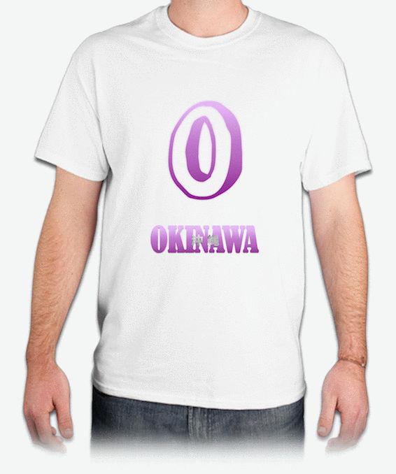 『OKINAWA 沖縄』HiCool機能性吸濕排汗圓領T恤