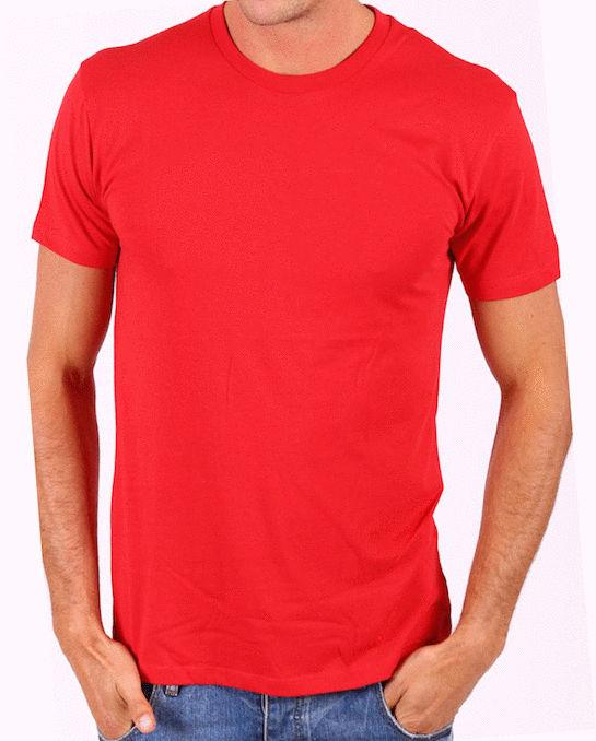 法拉利紅色 HiCool機能性吸濕排汗圓領T恤 涼感抗UV 速乾彈性佳