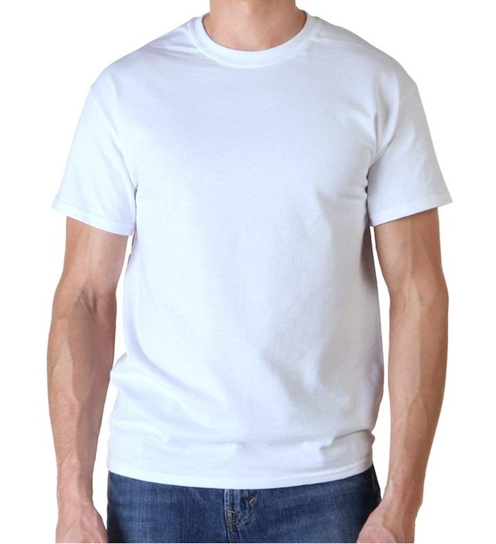 型男必備 白色素面T恤 台南紡織HiCool機能性吸濕排汗 速乾彈性佳 涼感抗UV
