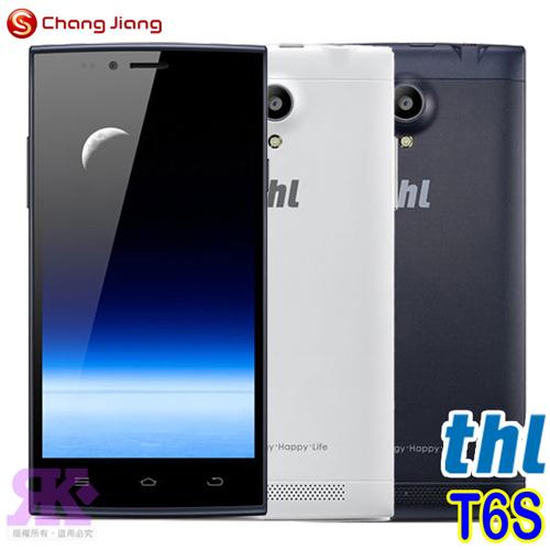 長江 thl-T6S 5吋極薄四核雙卡智慧手機