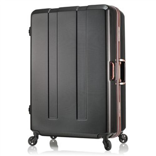 日本 LEGEND WALKER 6703-70-29吋 電子秤鋁框輕量行李箱 碳纖黑