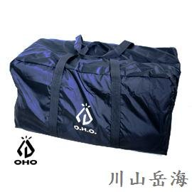 [ OHO ] 露營A01提袋黑色 / 自動充氣睡墊提袋 / 大裝備袋 / 收納袋 / BA01BK