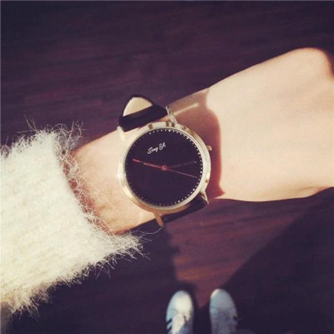 50%OFF【H019066WAH】手錶女學生韓版極簡約時尚潮流休閒大氣創意學院風超薄石英男女表