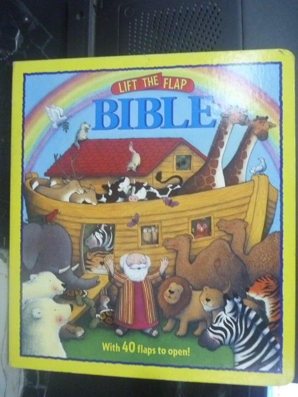 【書寶二手書T7/少年童書_ZEB】Lift-the-Flap Bible_Sally Lloyd-Jones
