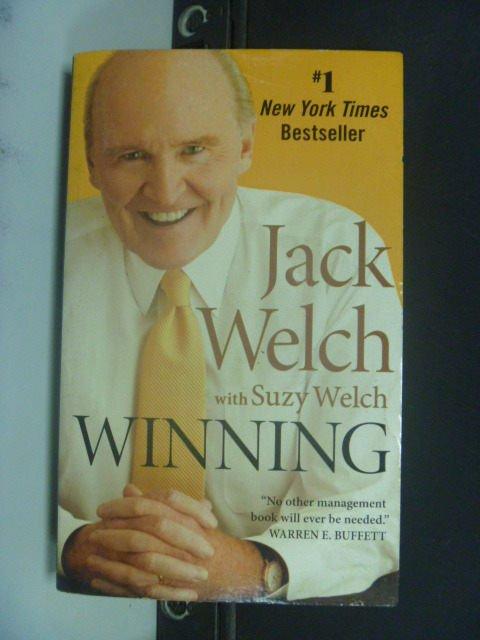 【書寶二手書T6/財經企管_MFX】Winning_Welch, Jack