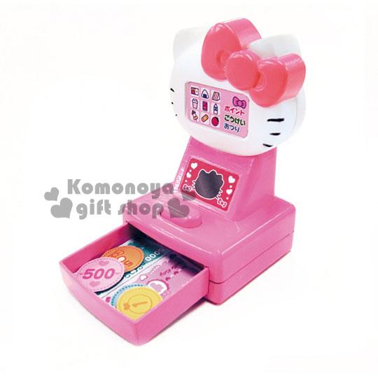 〔小禮堂嬰幼館〕Hello Kitty 超市收銀機玩具組《粉.大臉.》增添親子間的親密度