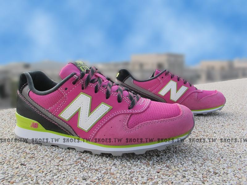 《超值4折》Shoestw【WR996EH】NEW BALANCE NB996 復古慢跑鞋 紫 女生尺寸