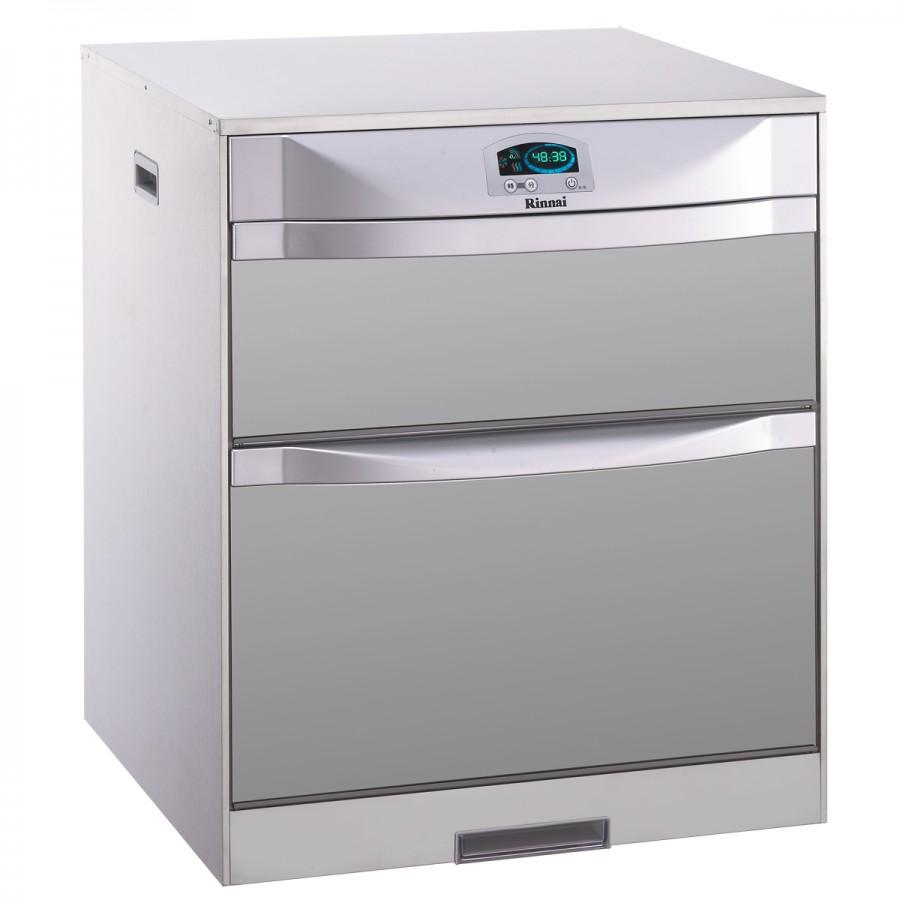 (林內)落地式烘碗機(雙門抽屜) -RKD-6051