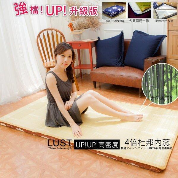 【東憶批發購物網】《高密度孟宗竹透氣床墊》杜邦透氣綿˙冬夏兩用涼墊 ˙台灣生產