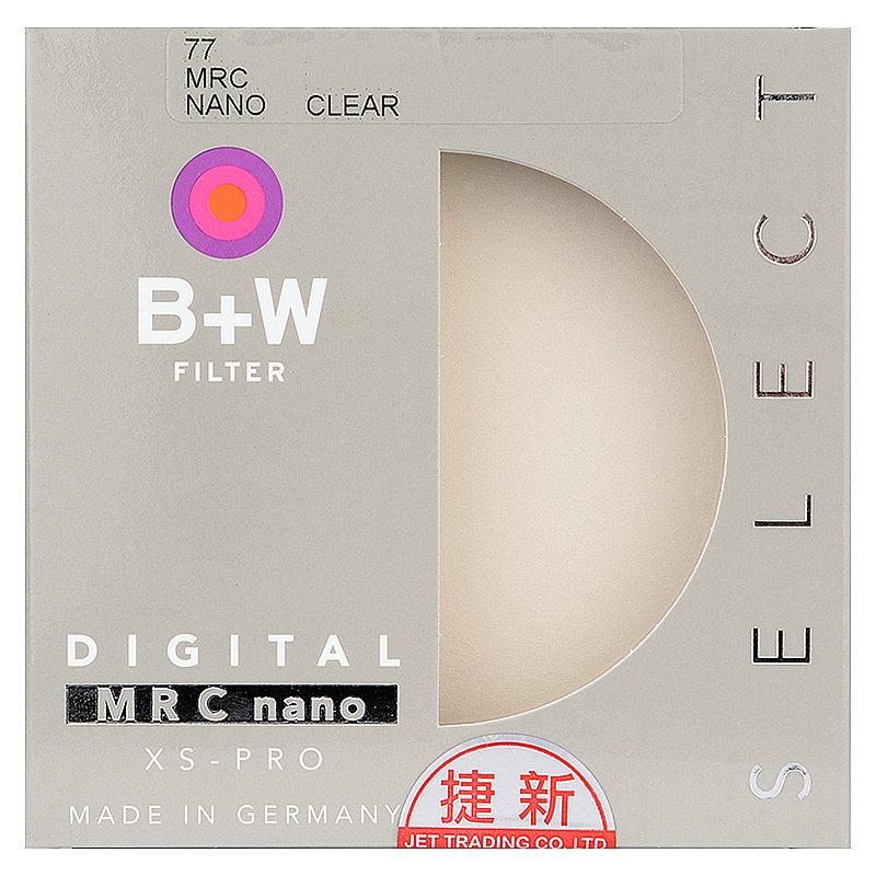 ◎相機專家◎ B+W XS-Pro 77mm 007 Clear MRC 超薄高硬度保護鏡 非XSP UV 捷新公司貨