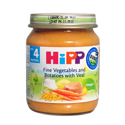 HiPP喜寶天然蔬菜小牛肉全餐
