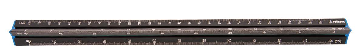 萬事捷 reform 鋁製雷射雕刻比例尺 30cm