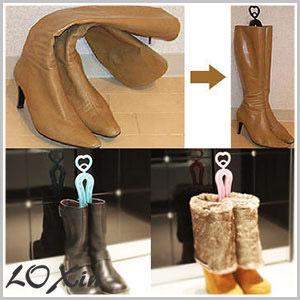 Loxin【BA0397】靴子水晶支撐夾 短筒靴撐 鞋撐鞋夾鞋架靴夾靴架 鞋子收納 鞋櫃收納