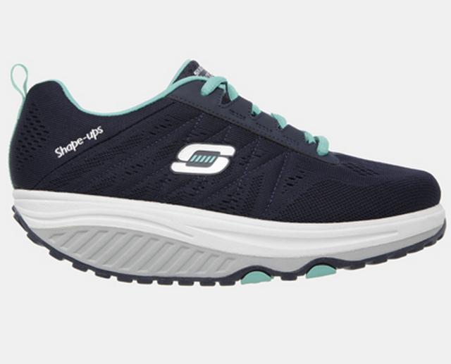 [陽光樂活] Skechers Shape-Ups 女款 美體塑身鞋 健走鞋 57000NVTQ
