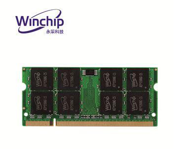 Winchip 永采科技1GB DDR2 800筆記型記憶體