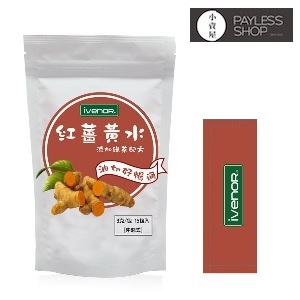【小資屋】iVENOR 紅薑黃水-添加綠茶(15包/袋)