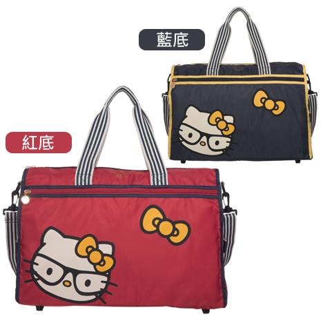 HELLO KITTY × Hallmark聯名收納旅行袋-眼鏡凱蒂