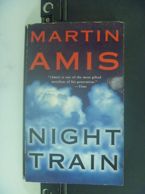 【書寶二手書T3/原文小說_HIV】Night Train_Martin Amis