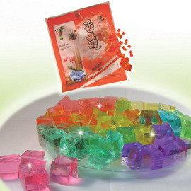 【10種顏色】方塊香晶泥(1公斤裝).水晶泥.水晶花泥.水晶營養泥.水晶寶寶.水培專用營養