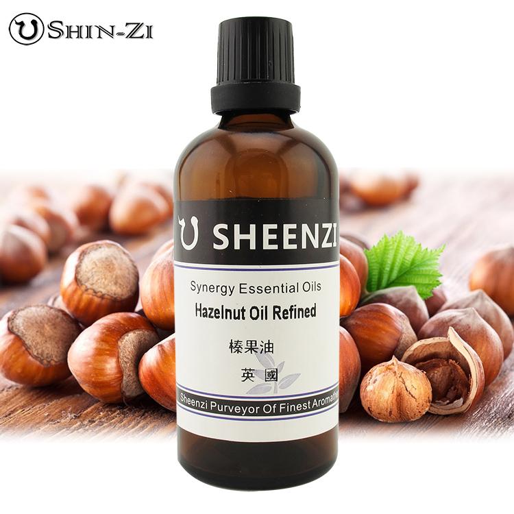 100ml / 1L / 5L 榛果油天然基礎油(英國產區) 芳療級按摩油 基礎植物油 按摩油 SPA用油