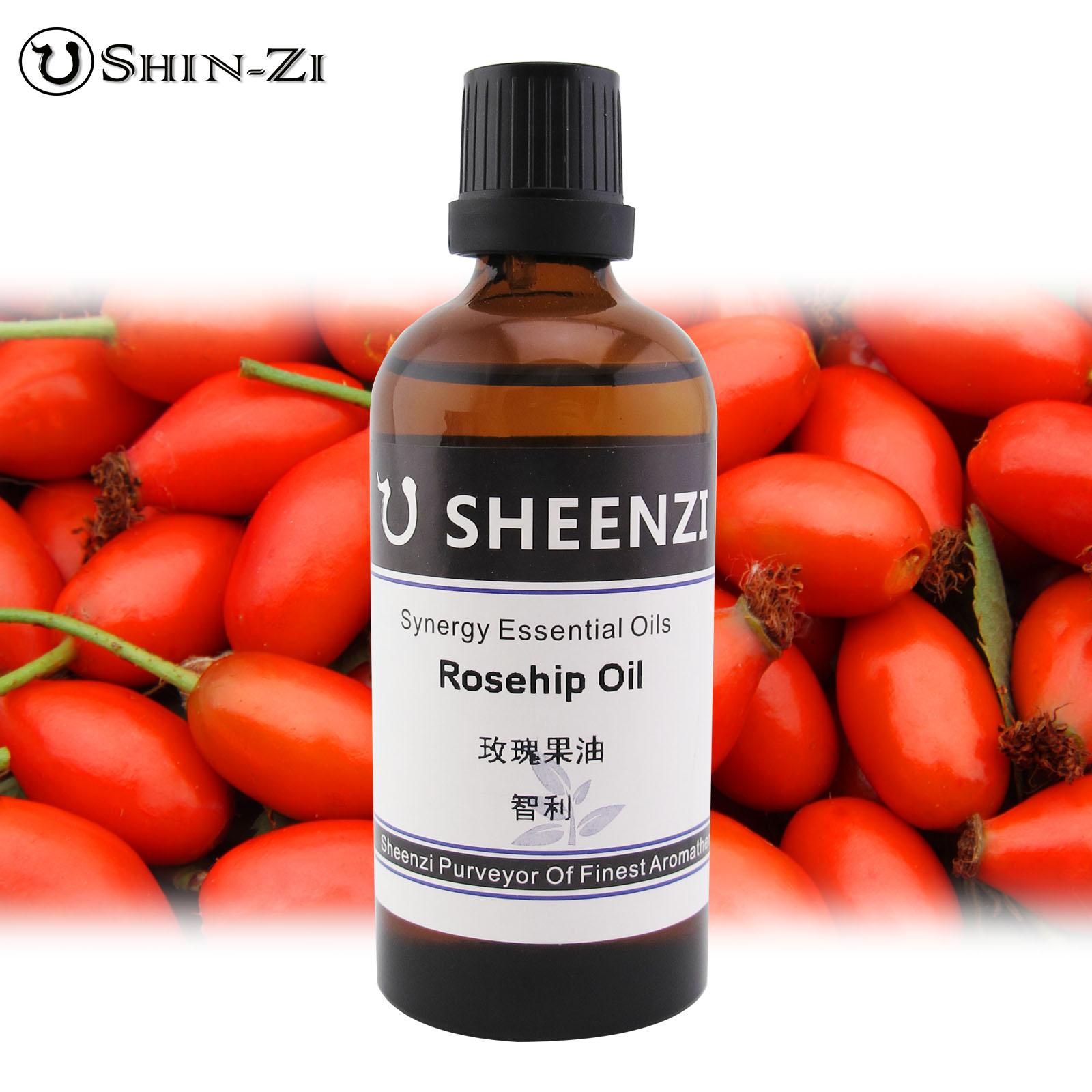 100ml / 1L / 5L 初榨玫瑰果油天然基礎油(智利產區) Rose Hip Oil芳療級按摩油 植物油 身體按摩油 SPA用油 基底油