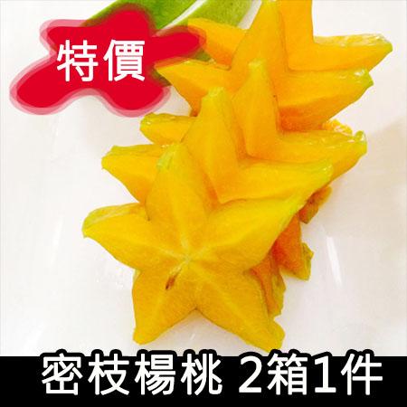 [玉峰]密枝楊桃/兩箱1件/特價中