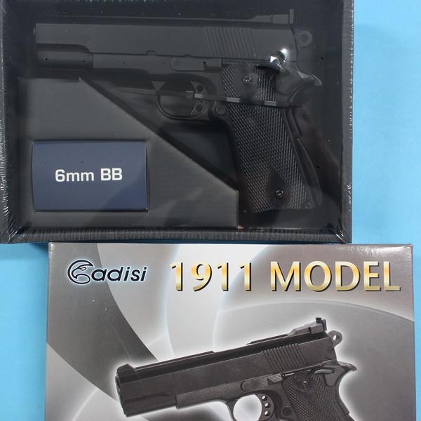台灣製空氣BB槍 AD-213 BB槍 HA121 1911加重型玩具槍(黑色)/一支入{促600}~佳19HA-121