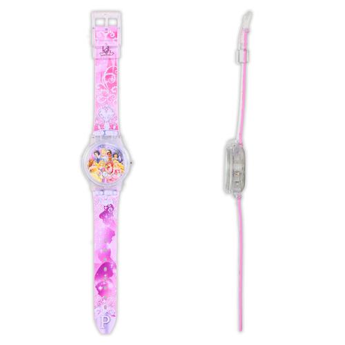 公主LCD多變手錶/公主系列/卡通錶/Disney