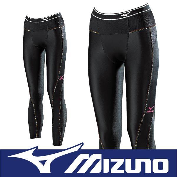 MIZUNO 美津濃 BIOGEAR BG3000R 壓縮褲 壓力褲 支撐保護 吸汗快乾 彈性佳 抗紫外線 K2MJ6D0399 黑x4色 (女)