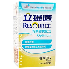 RESOURCE立攝適 均康營養均衡配方(香草)237mlx24罐/箱