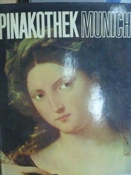 【書寶二手書T2/藝術_ZJE】Pinakothek Munich_世界美術館全集13慕尼黑美術館