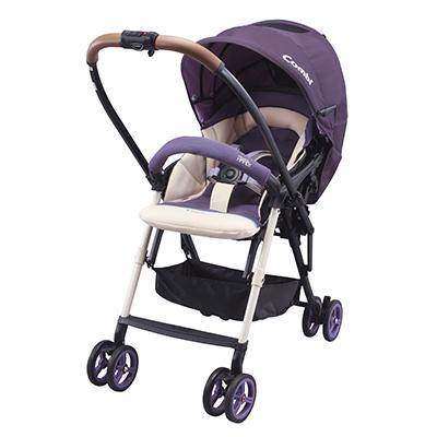 【悅兒園婦幼生活館】Combi 康貝Mechacal Handy Plus 最輕量雙向推車-鬱金香紫