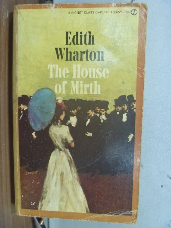 【書寶二手書T8/宗教_HHC】The House of Mirth_Edith wharton