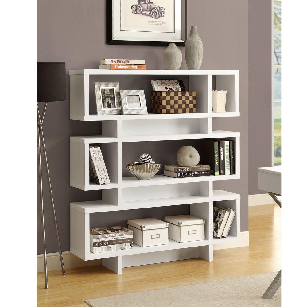 康迪仕摩登書櫃(白色) /收納櫃 / DIY組合家具