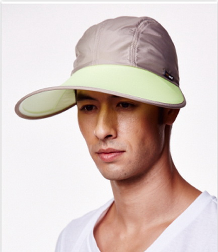SUNSOUL/HOII/后益-(脈衝光光能布)-棒球帽【寬版款】UPF50+黃光【有機樂活購】