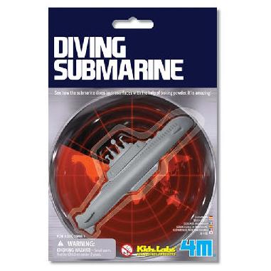 【4M 創意 DIY】Diving Submarine 潛水艇