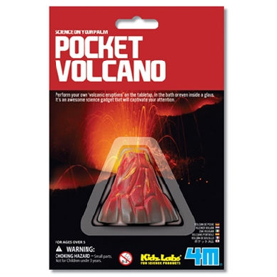 【4M 創意 DIY】Pocket Volcano 迷你火山