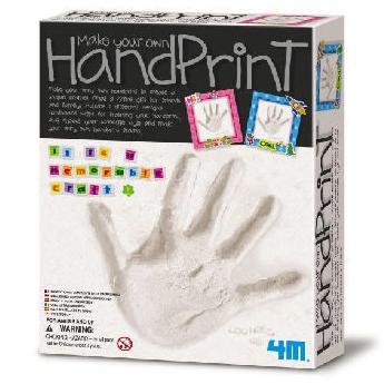 【4M 創意 DIY】Make Your Own Hand Print 創意手拓