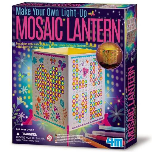 【4M 創意 DIY】Make Your Own Mosaic Lantern馬賽克燈籠
