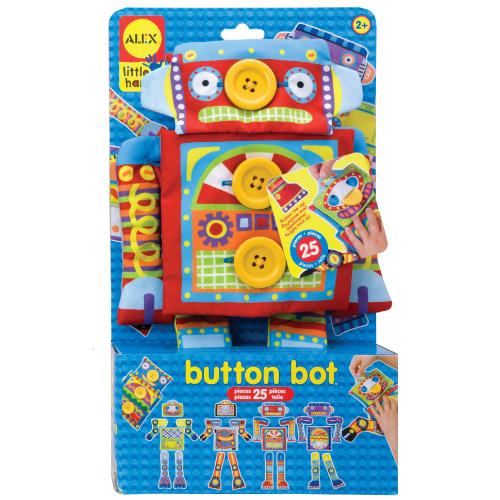 【美國ALEX  】鈕扣玩偶變裝秀-機器人