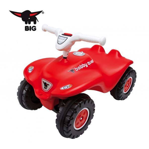 【德國BIG】波比車-新款加大版/紅