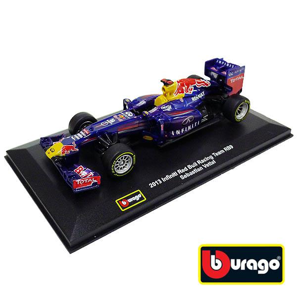 【Bburago 合金車】1:32 2013 英菲尼迪 RedBull Racing Team RB9 Sebastian Vettel