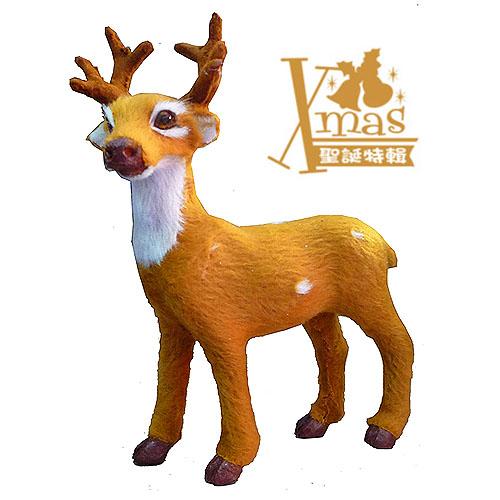 【X mas聖誕特輯2014】4吋聖誕麋鹿擺飾B款
