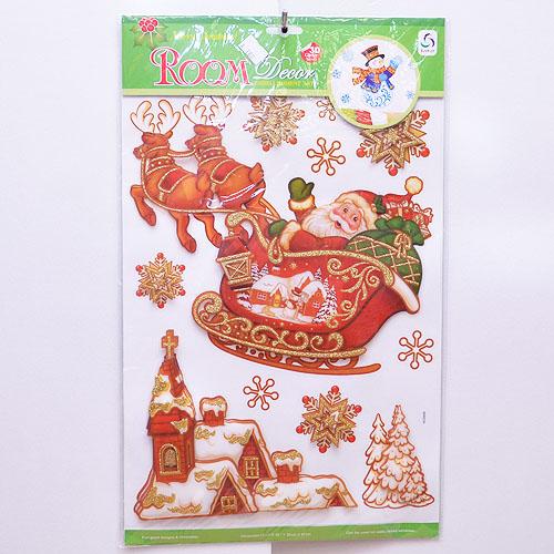 【X mas聖誕特輯2014】靜電窗貼 BT-5520