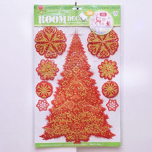 【X mas聖誕特輯2014】靜電窗貼 BT-5523