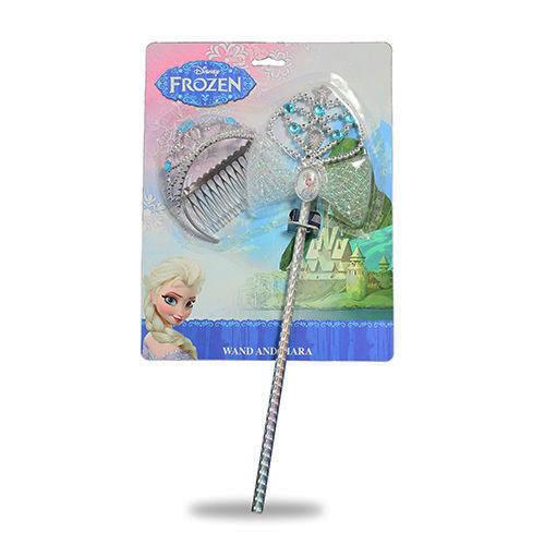 【Disney 品牌授權系列】冰雪奇緣魔杖與小皇冠2件組 BL82552