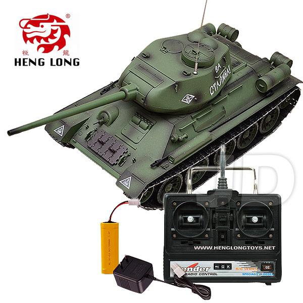 【Heng Long 恆龍遙控戰車】1:16 俄羅斯坦克T-34 (#3909-1)