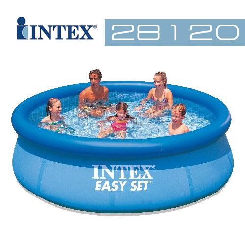 【INTEX】10尺泳池 (28120) (購買加贈泳池罩&修補貼片)