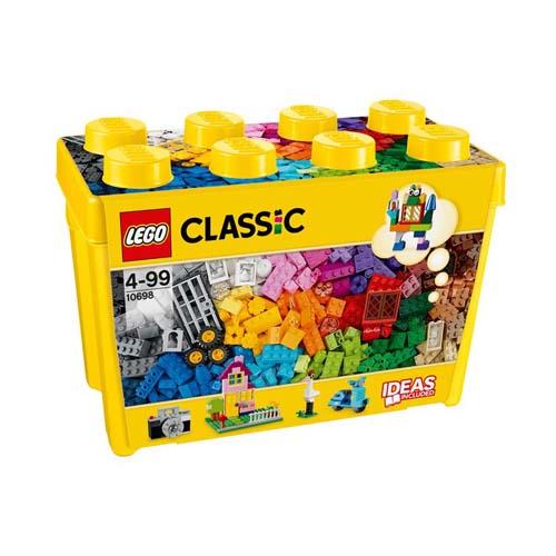 【LEGO樂高積木】Classic系列-樂高大型創意拼砌盒桶 LT 10698