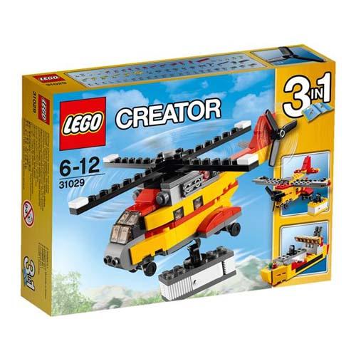 【LEGO 樂高積木】Creator系列-貨物直升機 LT 31029